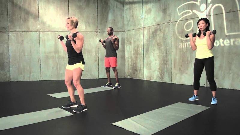 Upper Body Blast 20 minute Workout by Aimee Nicotera Take 20