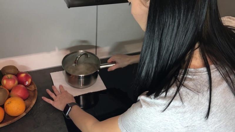 Индукционная варочная поверхность BOSCH. Индукционная плита. Как я пользуюсь. ЗАЧЕМ САЛФЕТКИ?