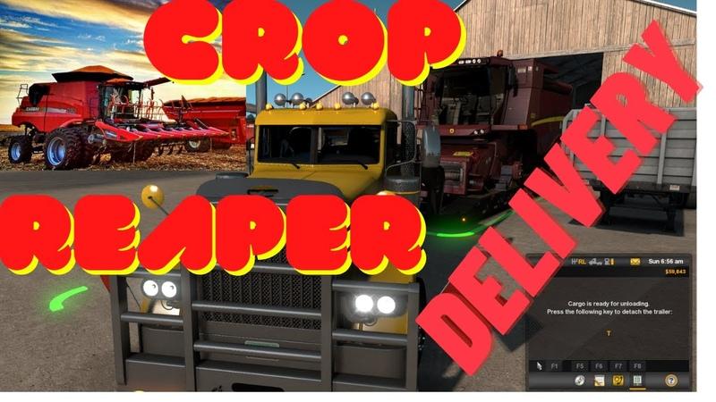 CROP REAPER DELIVERY AMERICAN TRUCK SIMULATOR 2020