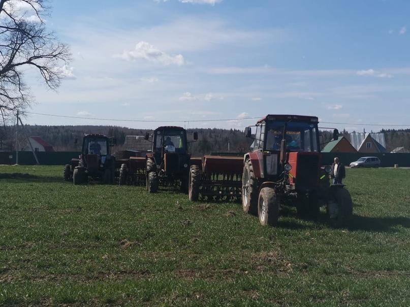 Весенне-полевые работы в хозяйствах Агрохолдинга «Союза Маринс Групп» в разгаре