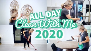 ULTIMATE CLEAN WITH ME / ALL DAY CLEANING / EXTREME SPEED CLEANING MOTIVATION 2020