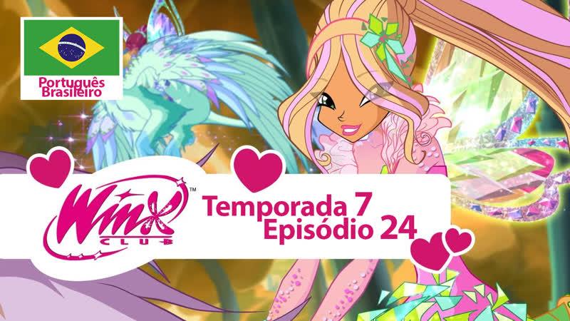 O Clube das Winx Temporada 7, Episódio 24 - «A Borboleta Dourada» (Português Brasileiro)