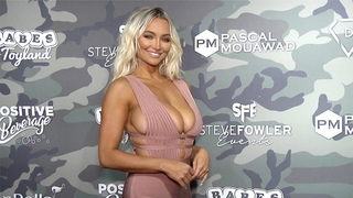 Bonus Clip: Lindsey Pelas 2019 Babes in Toyland Support our Troops Red Carpet
