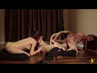 Mackenzie Moss, Gianna Dior, Lacy Lennon, Sabrina Rouge [Foursome, Lesbian, Blonde, Brunette, Latina, Lesbian,Panties, 1080p]+18