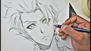 How to draw a Male Manga character Basic Anatomy''Drawing Tutorial