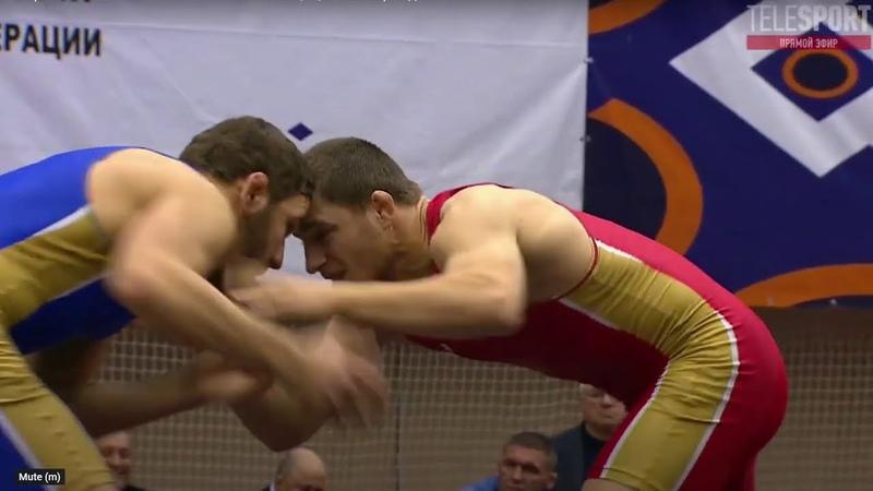 ЧР по вольной борьбе 2020 Финал 79 кг Ахмед Усманов Гаджимурад Алихмаев