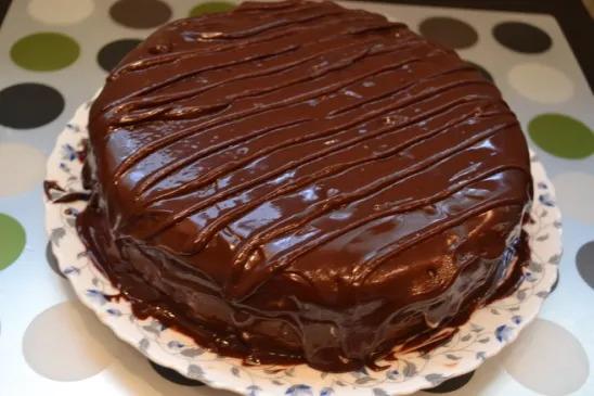 Торт «Прага» по старому рецепту.