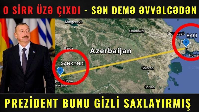 TƏCİLİ! - Gizli plan üzə çıxdı - Xankəndinə dəmir yolu və Kəlbəcər....