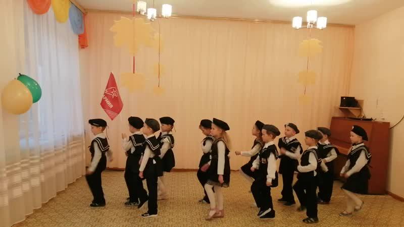 отряд ЮНАРМИИ начальная школа детский сад Светлячок