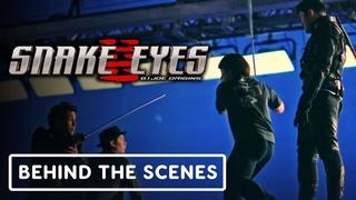 Snake Eyes - Official Stunts Behind the Scenes Clip (2021) Henry Golding, Samara Weaving