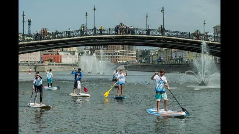 Парад сапбордистов и гонки на аквабайках пройдут в столице