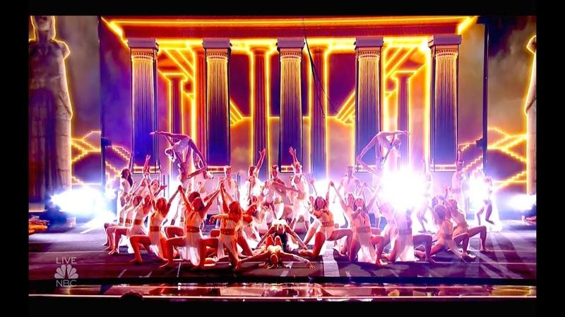 Zucaroh Acrobatic Dance Group Best Audio Semifinals 1 America's Got Talent Sep 4 2018