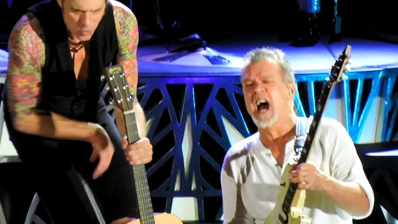 Van Halen - Dirty Movies, Ice Cream Man, Unchained, Aint Talkin Bout Love - Live Hollywood Bowl (2015)