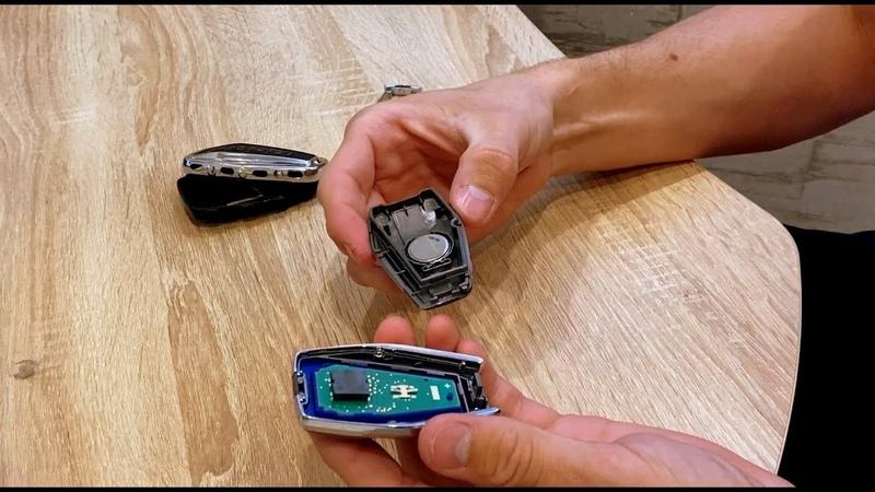 Как поменять батарейку в Смарт-Ключе Извлечение механического ключа из корпуса Geely Coolray SX11
