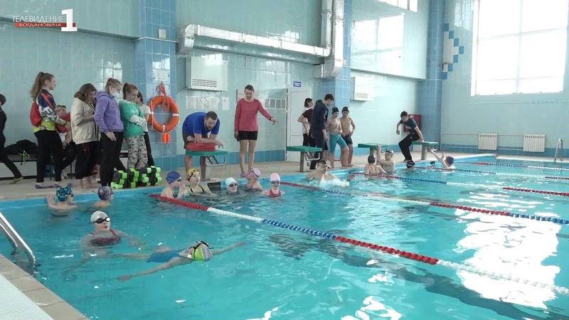 Прославленный пловец на фестивале ГТО
