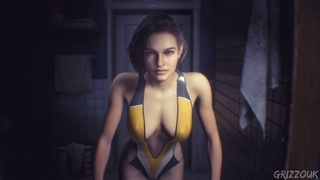 Resident Evil 3 Remake Jill Valentine in Swimsuit PC Mod