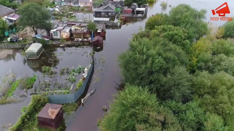 Число пострадавших от паводка в Хабаровском крае продолжает расти