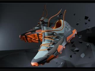 Концепт обуви для трейлраннинга AFOUR x Denis Borisov