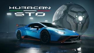 Rocket League | Lamborghini Huracán STO Trailer