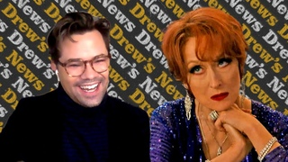 Andrew Rannells Kept His Cool Around Meryl Streep While Filming The Prom   Drew's News