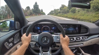 2021 Mercedes-AMG GLE 63 S 4Matic+ POV Drive (3D Audio)(ASMR)