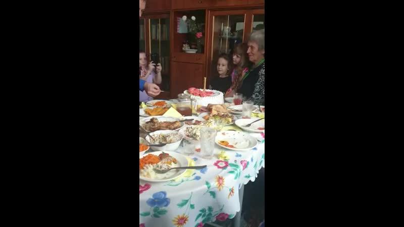 85 лет баба