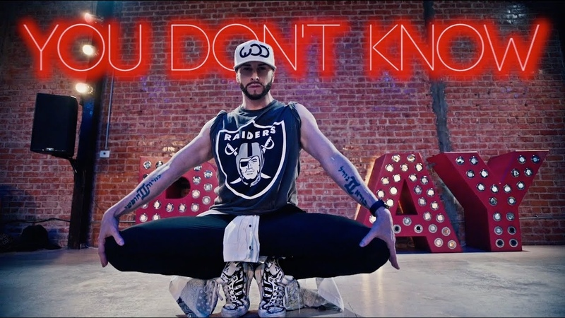 You Don't Know 702 Brian Friedman Choreography Playground LA RobFish