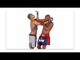 Anderson Silva muay thai clinch for MMA
