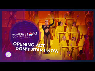 Dua lipa - don't start now | live | opening act | imagination music comeptition - 23 | semi - finals
