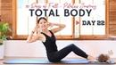 День 22: Пилатес для всего тела - Укрепление рук, бедер и кора. Total Body Pilates | Strengthen Whole Body: Arms, Hips Core | 90 Days of Fall Series | Day 22