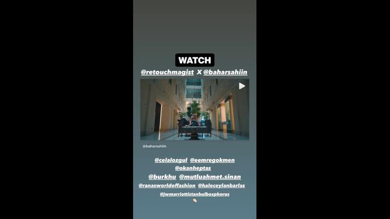 Съемки фотосессии Бахар для ReTouch