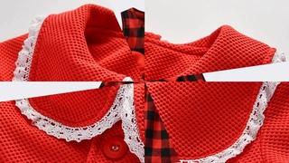 Рождественское платье для маленьких девочек iyeal, комплект одежды для девочек на весну и зиму, куртка + шерстяное платье в