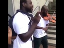 Violin rap, guy raps other plays violin