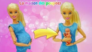 Barbie a mis au monde un garçon! Vidéo avec poupées pour filles.