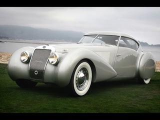 Красивые и элегантные автомобили эпохи арт-деко. 1925-40г.