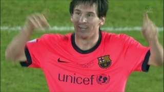 Season 2009/2010. Estudiantes - FC Barcelona - 1:2 AET (highlights)