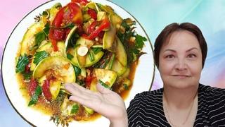 Салат из кабачков по- корейски.