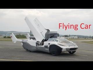 Первый в мире летающий автомобиль - AirCar V5