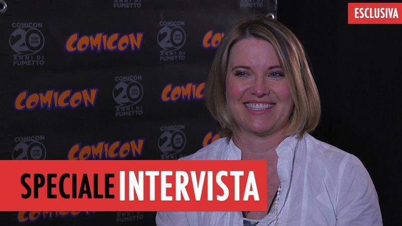 Lucy Lawless intervista all'attrice di Ash vs evil dead
