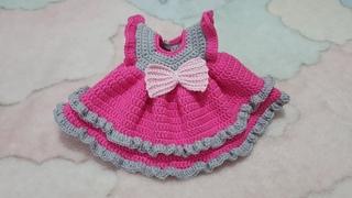 ZÜMRA BEBEK ELBİSE #dress #handmade #doll