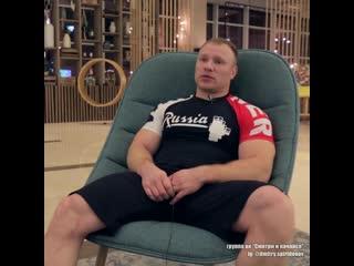 Дмитрий Инзаркин, количество тренировок в неделю