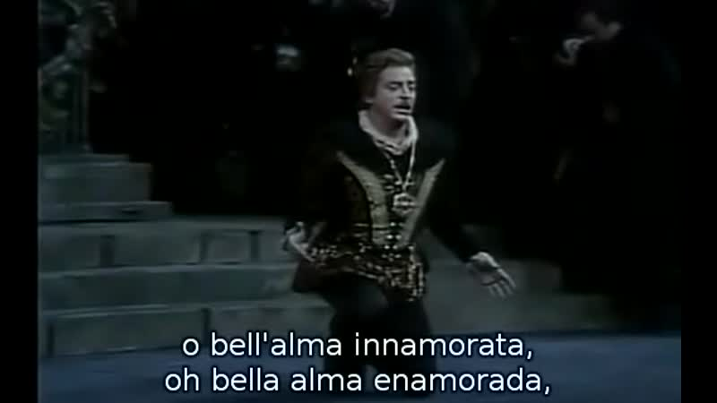 Alfredo Kraus Paul Plishka Tu che a Dio spiegasti l'ali de Lucia di Lammermoor de Donizetti Richard Bonynge MET 1982