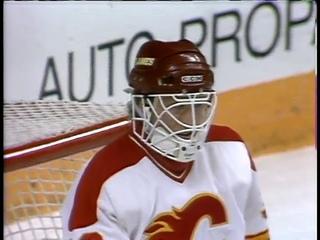 1989 Smythe Division Semi Final Calgary Flames vs Vancouver Canucks   Game 7
