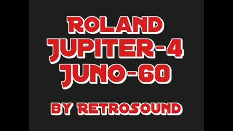 Roland Jupiter 4 Juno 60 by RetroSound