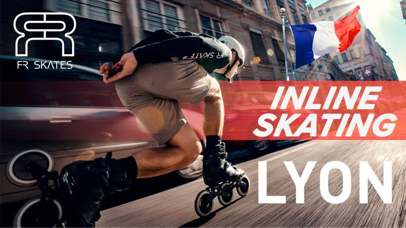 FR SKATES FReeride SKATING in LYON France with Sylvain Behr and friends