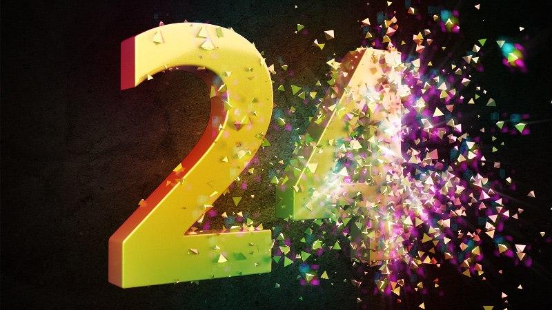 Поздравления 24 года