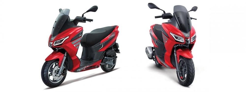 Скутеры Aprilia SXR представили в Индии