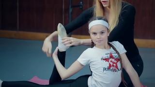 Упражнения для гибкой спины в художественной гимнастике