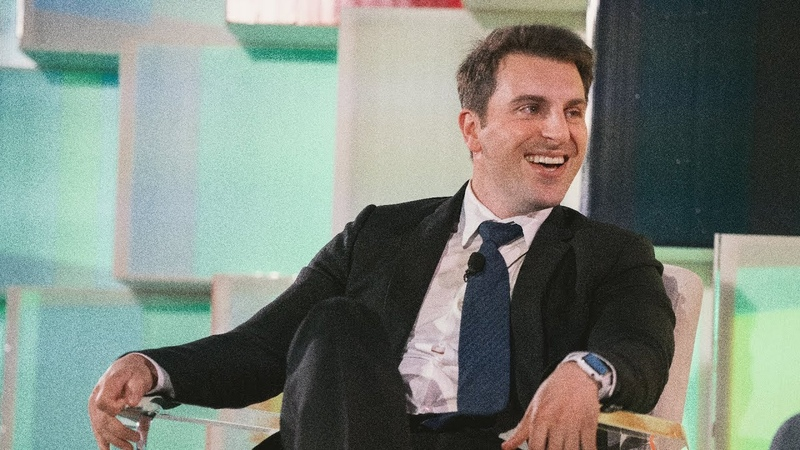 Brian Chesky CEO of Airbnb Sits Down For A Fireside Chat