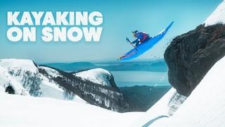 Kayaking At 100km/h On Snow | Red Bull Kayaking